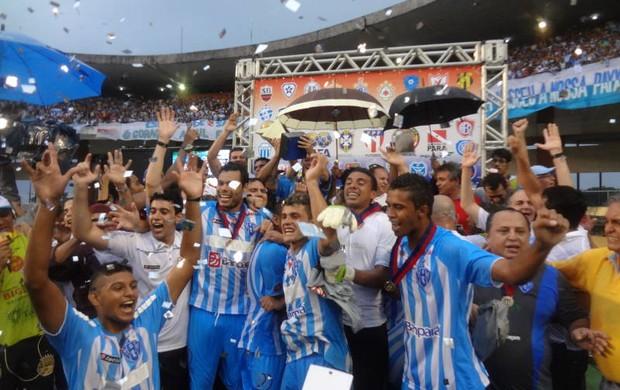 Paysandu campeão (Foto: Gustavo Pêna/GLOBOESPORTE.COM)
