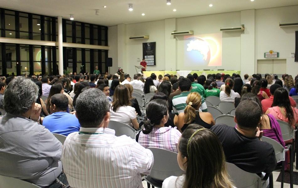 Público compareceu em peso ao encerramento do seminário (Foto: Katiúscia Monteiro/G1 AM)