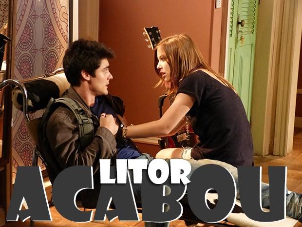 LiTor acabou! (Foto: Malhação / TV Globo)