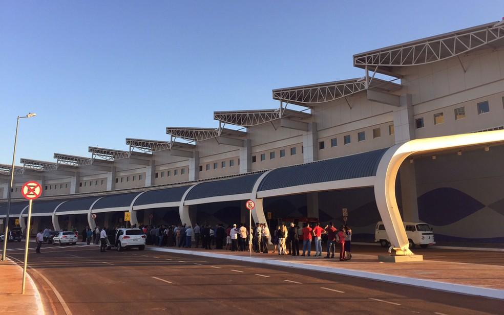 Delatores da Odebrecht afirmam que houve fraude na licitação do aeroporto de Goiânia (Foto: Murillo Velasco/G1)