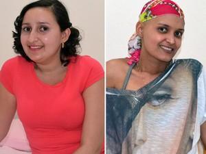 Rosemar e Jaciara em tratamento contra o câncer em Ribeirão (Foto: Fernanda Testa/G1)