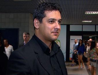 Marquinhos Santos; técnico do Bahia (Foto: Imagens/TV Bahia)