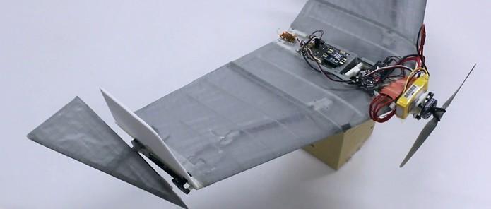 Drone DALER é capaz de voar e caminhar para ajudar em resgates (Foto: Divulgação/Ludovic Daler)