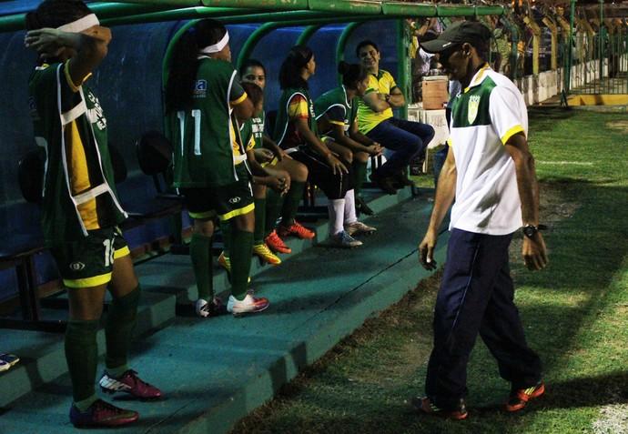 José Batista, treinador do Picos (Foto: Wenner Titto)