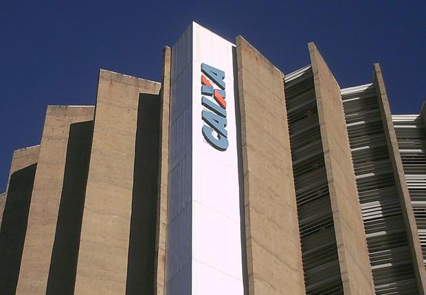 Sede da Caixa Econômica Federal , em Brasília (Foto: Divulgação)