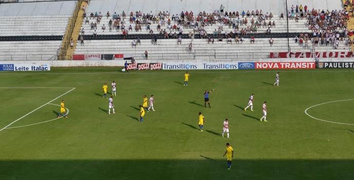 Paulista x Audax, no Estádio Jayme Cintra, em Jundiaí (Foto: Gustavo Amorim / Paulista)