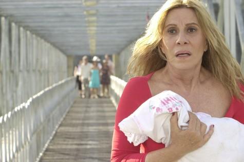 """Nazaré Tedesco (Renata Sorrah), de """"Senhora do destino"""", foi uma das vilãs escolhidas pelo ator. A personagem foi criada em 2004 por Aguinaldo Silva. (Foto: TV Globo)"""