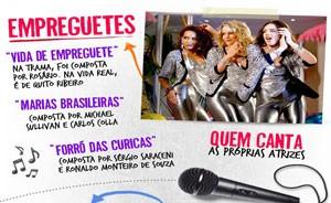 Confira quem está por trás dos hits de 'Cheias' (Cheias de Charme / TV Globo)