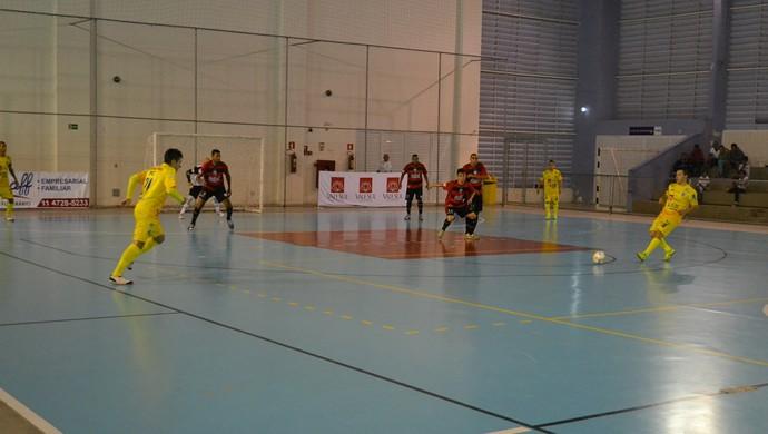 Mogi das Cruzes x São José Liga Paulista Futsal (Foto: Bruno Rocha)