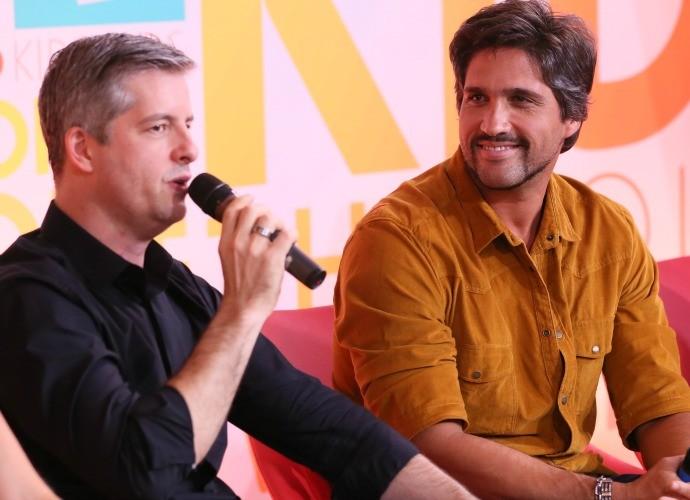 Vitor e Leo (Foto: Isabella Pinheiro/Gshow)