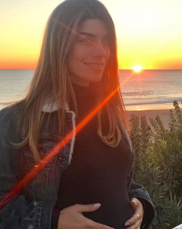 Joana Balaguer está grávida de Gaia (Foto: Reprodução Instagram)