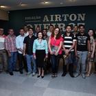 Equipe do  Iphan visita exposição  (Ares Soares/Unifor)