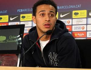 thiago alcantara entrevista barcelona  (Foto: Miguel Ruiz/Barcelona )