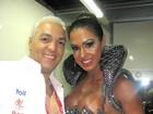 Veja os melhores momentos de Gracyanne Barbosa no desfile da Unidos da Tijuca