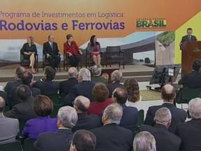 Evento anunciou investimentos no transporte (Foto: Divulgação)