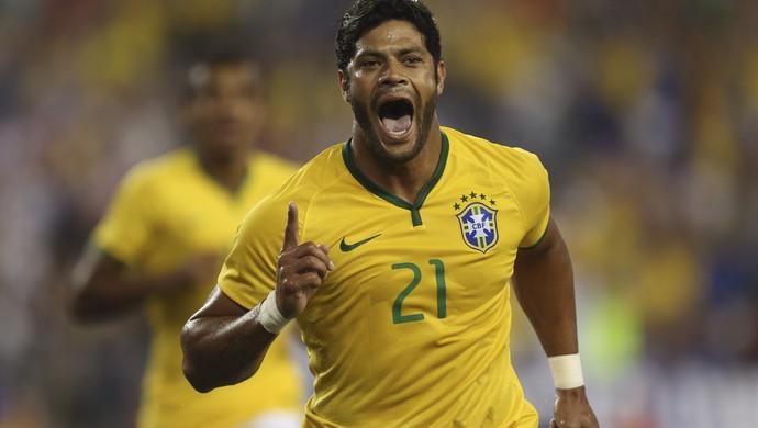 Hulk gol Brasil x Estados unidos (Foto: Leo Correa / MoWA Press)