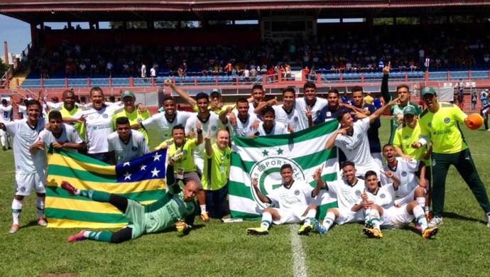 Goiás venceu todos os jogos na primeira fase da Copa São Paulo (Foto: Divulgação / Goiás E. C.)