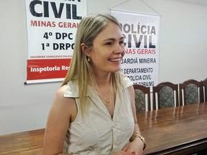 Sheila Oliveira delegada regional Juiz de Fora (Foto: Roberta Oliveira/G1)