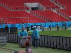 A 6 dias do primeiro jogo da Copa, Beira-Rio é liberado pelos bombeiros