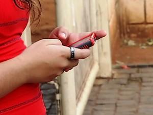 roubo de celulares Uberlândia (Foto: Reprodução/ TV Integração)
