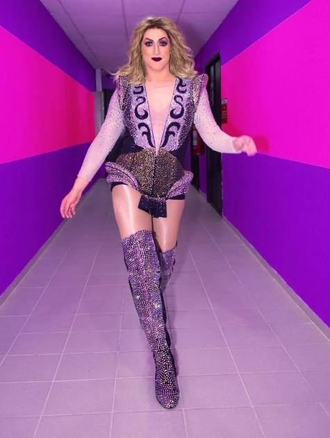 Paulo Gustavo vestido de Madonna (Foto: Divulgação)