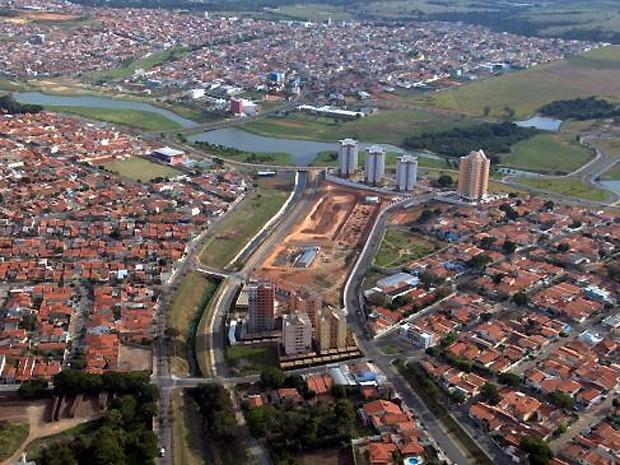 Visão aérea da cidade de Indaiatuba  (Foto: Eliandro Figueira/ Divulgação Prefeitura de Indaiatuba)