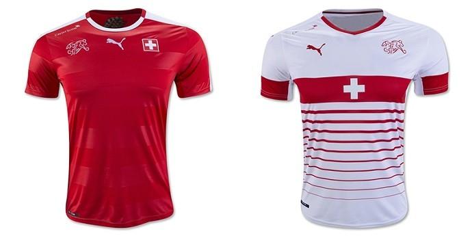 Camisas Eurocopa suica