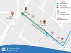 SMTT muda fluxo para sentido único na Rua Euclides Paes Mendonça