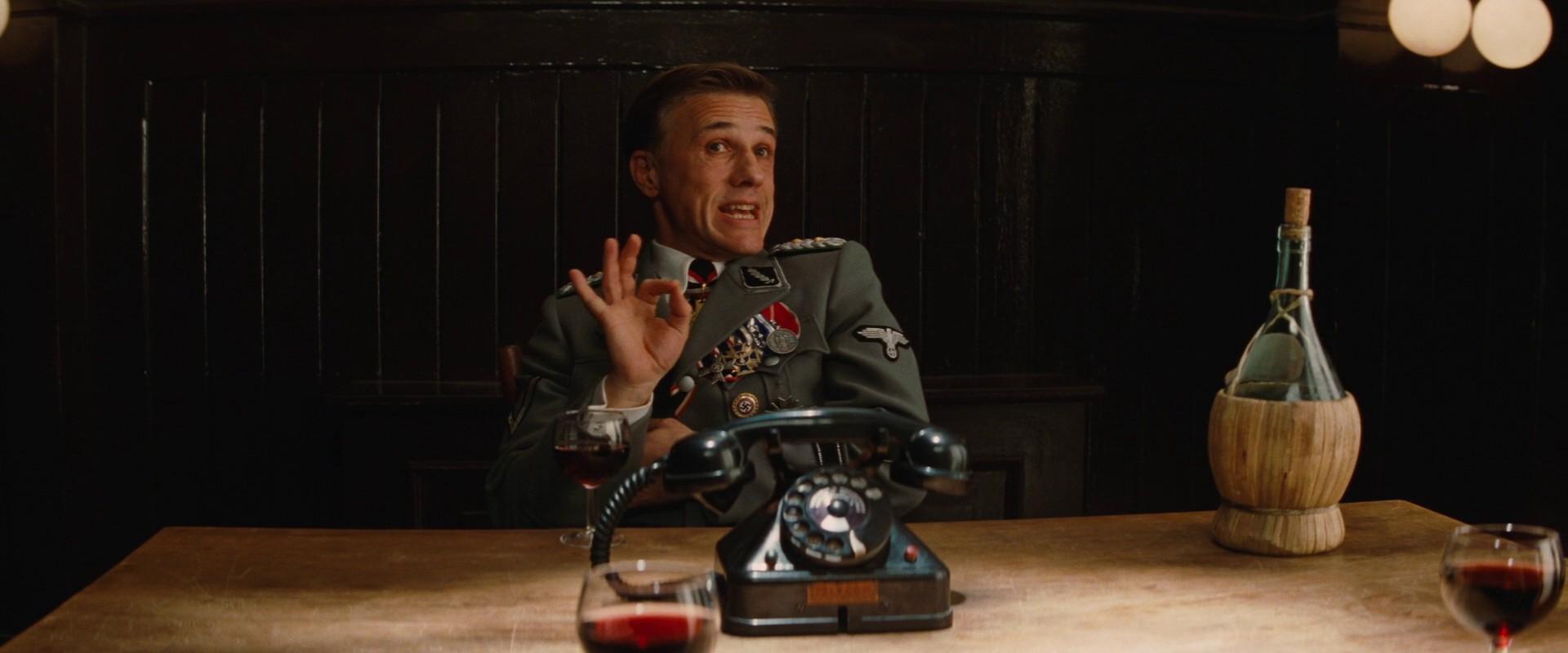 Coronel Hans Landa (Bastardos Inglórios) (Foto: Divulgação)
