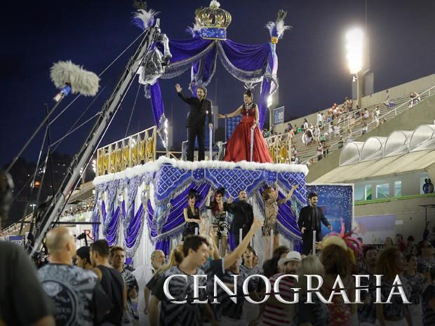 Cenografia, Império (Foto: Gshow)