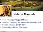 Vídeo conta como vida de Mandela seria se ele usasse Facebook e Twitter