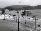 Defesa Civil de Santos alerta para risco de ressaca no fim de semana