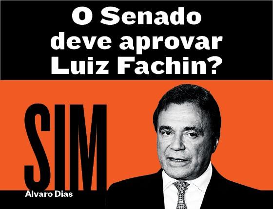 Alvaro Dias sobre se o Senado deve aprovar Luiz Fachin (Foto: Arquivo pessoal)