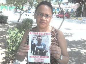 Maria Gecina Lima da Silva (Foto: Thiago Conrado/ G1)