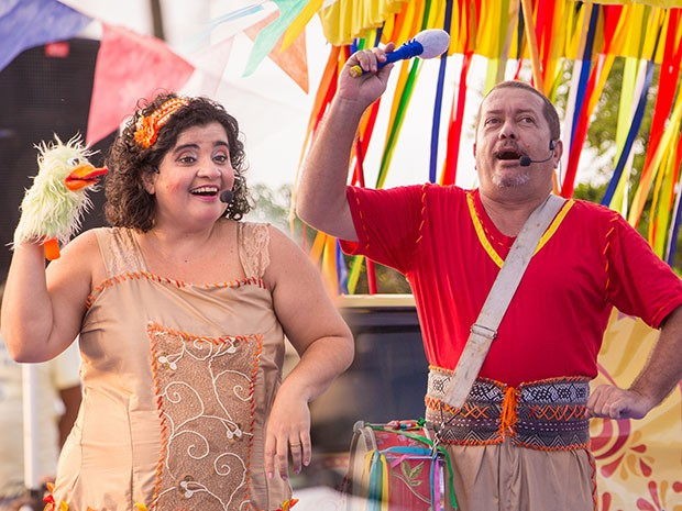 Programação tem circo, dança e contação de histórias (Foto: Brunno Martins)