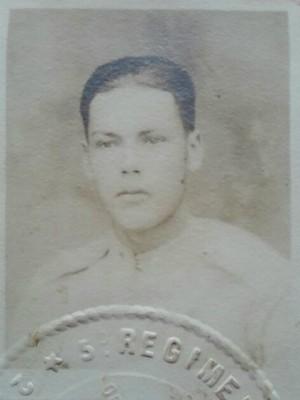 Benedito tinha menos de 18 anos quando foi chamado para o combate (Foto: Arquivo Pessoal/Benedito Monteiro)