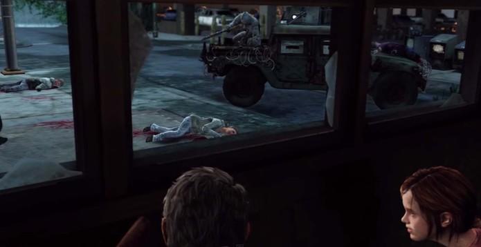 The Last of Us: veja como passar pelo tanque no game (Foto: Reprodução/YouTube)