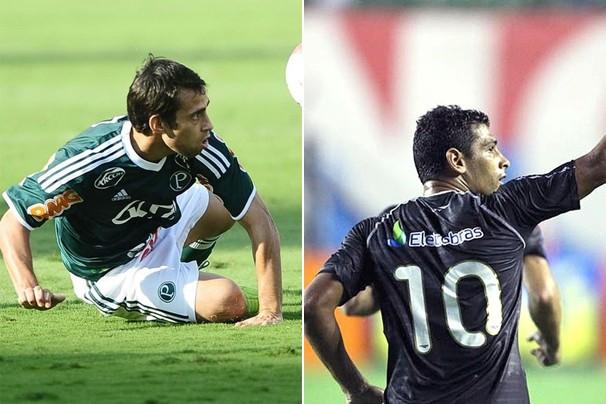 Palmeiras e Vasco se enfrentam pelo Brasileirão (Foto: globoesporte.com / Site Oficial do Vasco)