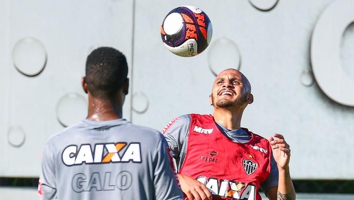 Fábio Santos; Atlético-MG (Foto: Bruno Cantini/CAM)
