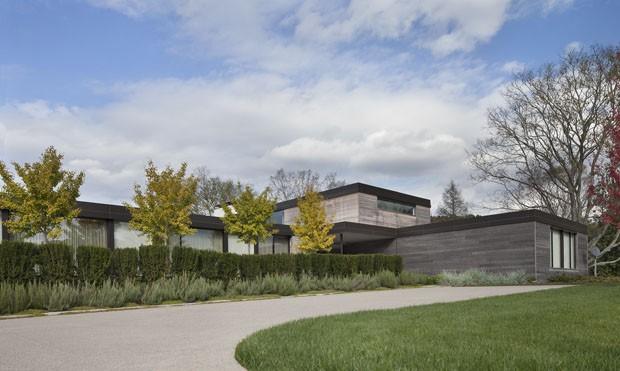Casa de campo integrada com a natureza casa vogue casas for Casas quintas modernas
