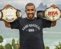 """Dono de cinturão do RFA, Raoni quer UFC: """"Entraria para ser campeão"""""""