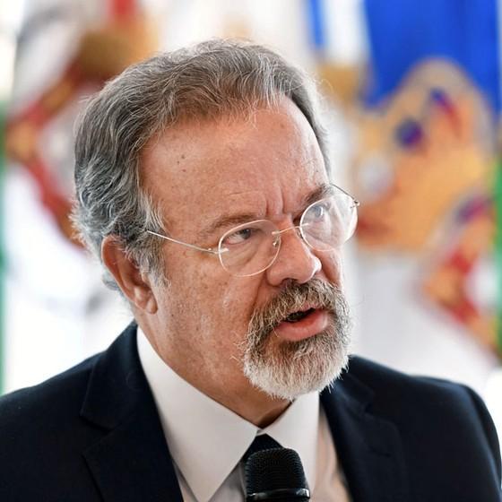 O ministro da defesa  Raul Jungmann (Foto:  EVARISTO SA/AFP)