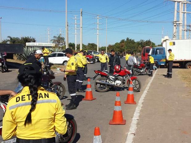 Detran durante operação no DF: 113 foram autuados em flagrante dirigindo embriagados entre sexta-feira (29) e domingo (21) (Foto: Detran/Divulgação)