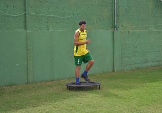Aurélio, Coruripe (Foto: Jota Rufino / GloboEsporte.com)