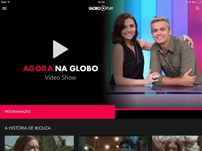 Globo Play dá acesso à programação ao vivo, trecho de programas e íntegra de novelas para assinantes (Foto: Reprodução/Elson de Souza)