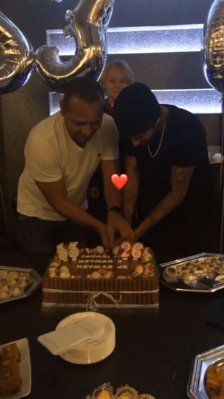 Aniversário de Neymar e pai (Foto: Reprodução/Instagram)