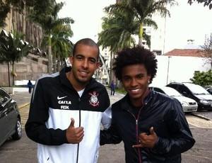 Willian Danilo Fernandes Corinthians (Foto: Divulgação)