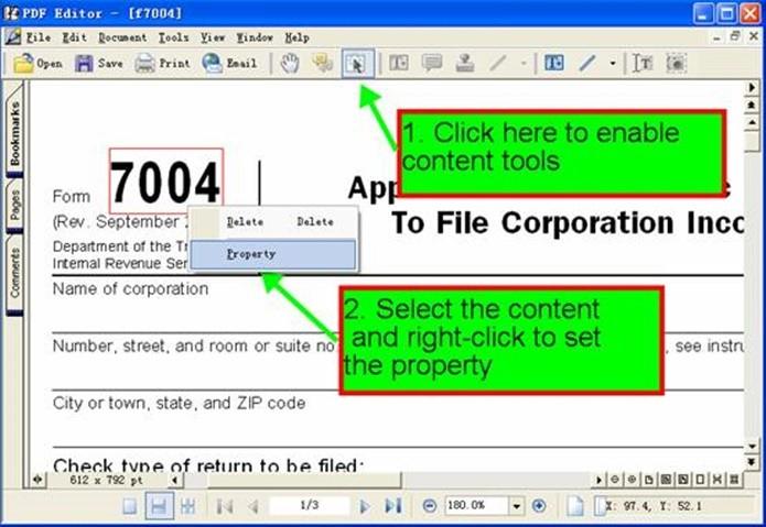 VeryPDF Editor possui ferramentas bem completas (Foto: Divulgação/VeryPDF Editor)