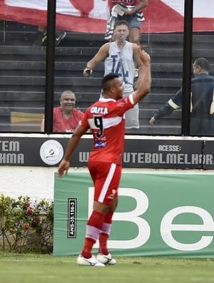 Zé Carlos, atacante do CRB (Foto: André Durão/GloboEsporte.com)