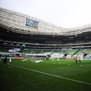 Palmeiras x Internacional arena (Foto: Marcos Ribolli)